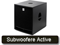 Subwoofere Active
