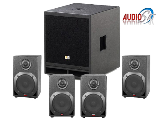 SISTEM AUDIO CHILLOUT SYSTEM X4