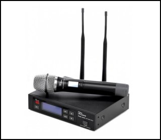 Free Solo HT 600 MHz - Microfon Vocal Wireless The T Bone