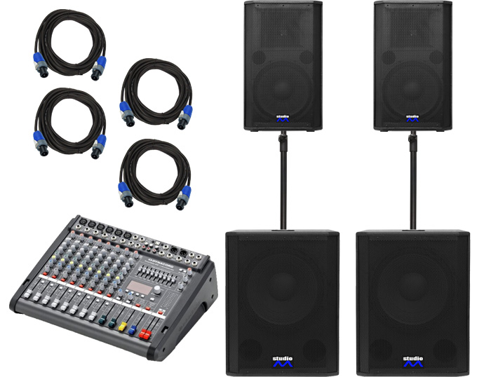 Sistem Audio Dynacord Powermate 600-HDX 215